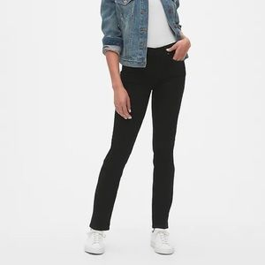 Gap Mid Rise Classic Straight Jeans GUC